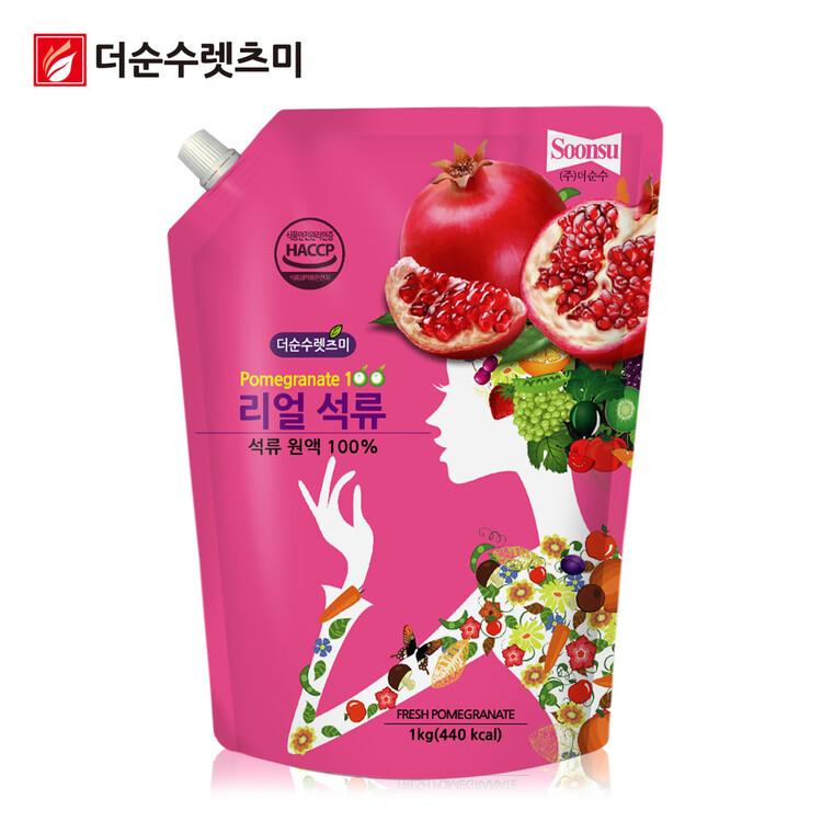 [더순수렛츠미] 물한방울없는 100% 석류원액 1kg
