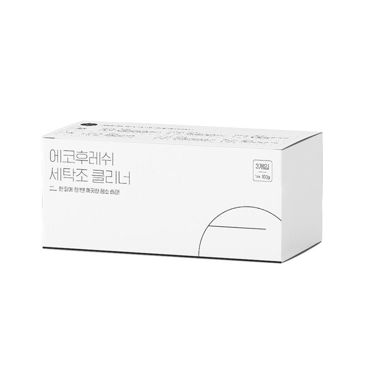 [에코후레쉬] 세탁조클리너 1박스(3개입)