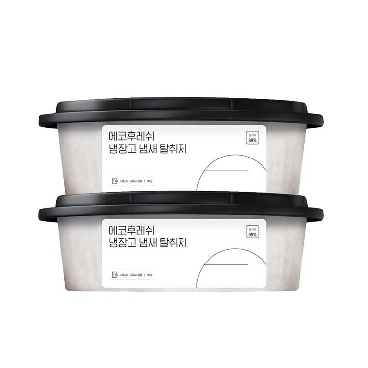 [에코후레쉬] 냉장고 탈취제 1+1