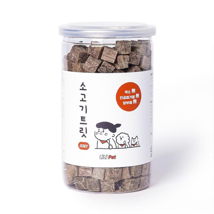 [리리펫] 동결건조간식 소고기트릿 120g