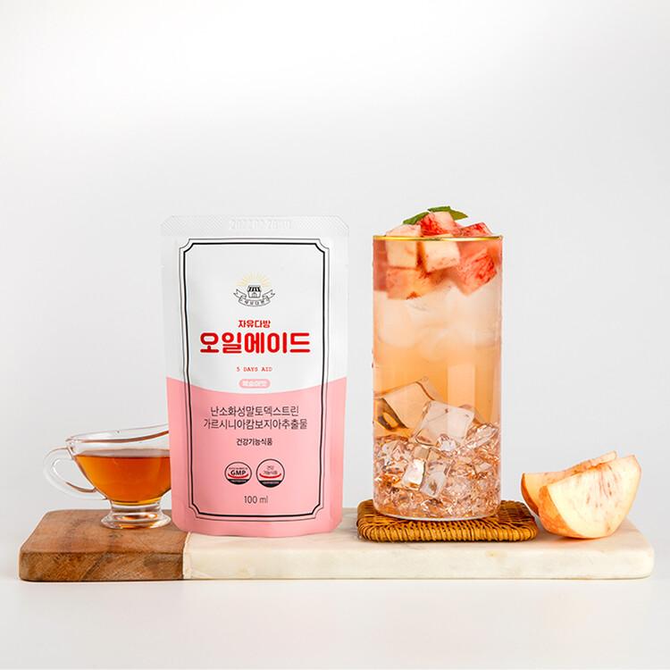 [자유다방] 탄수화물 차단 다이어트 오일에이드(망고맛/복숭아맛)