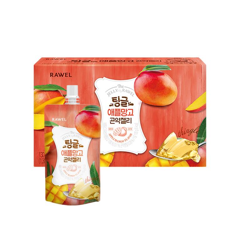 [한국생활건강] 로엘 곤약젤리 애플망고(1팩당 130g 6 kcal)