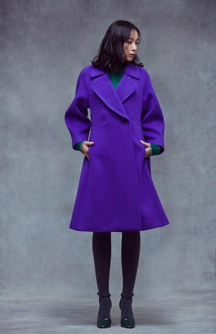 Shape Coat (PURPLE)