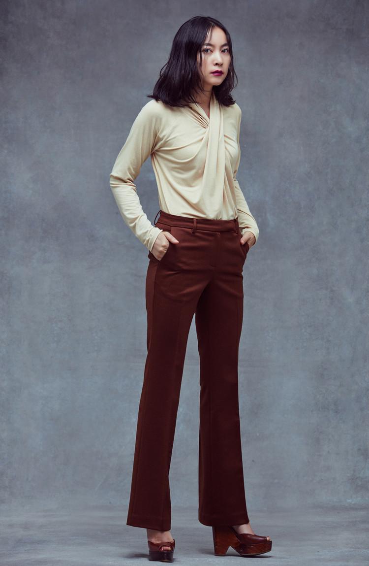 Slim Pants (BROWN)