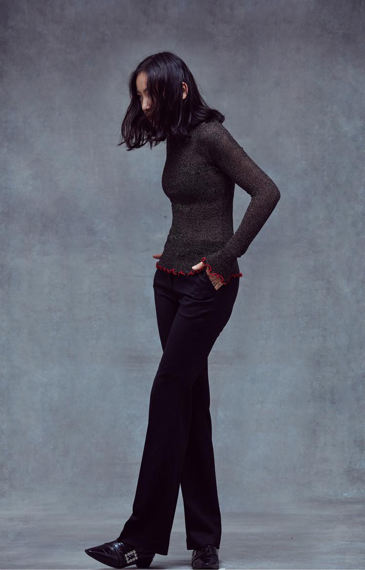 Slim Pants (BLACK)