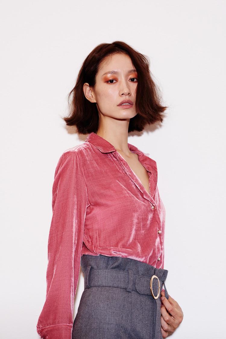 Silk Velvet Shirts