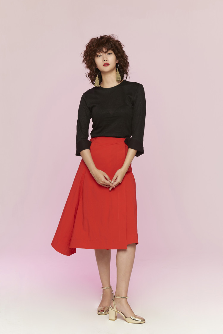 Wrap Skirt (RED)