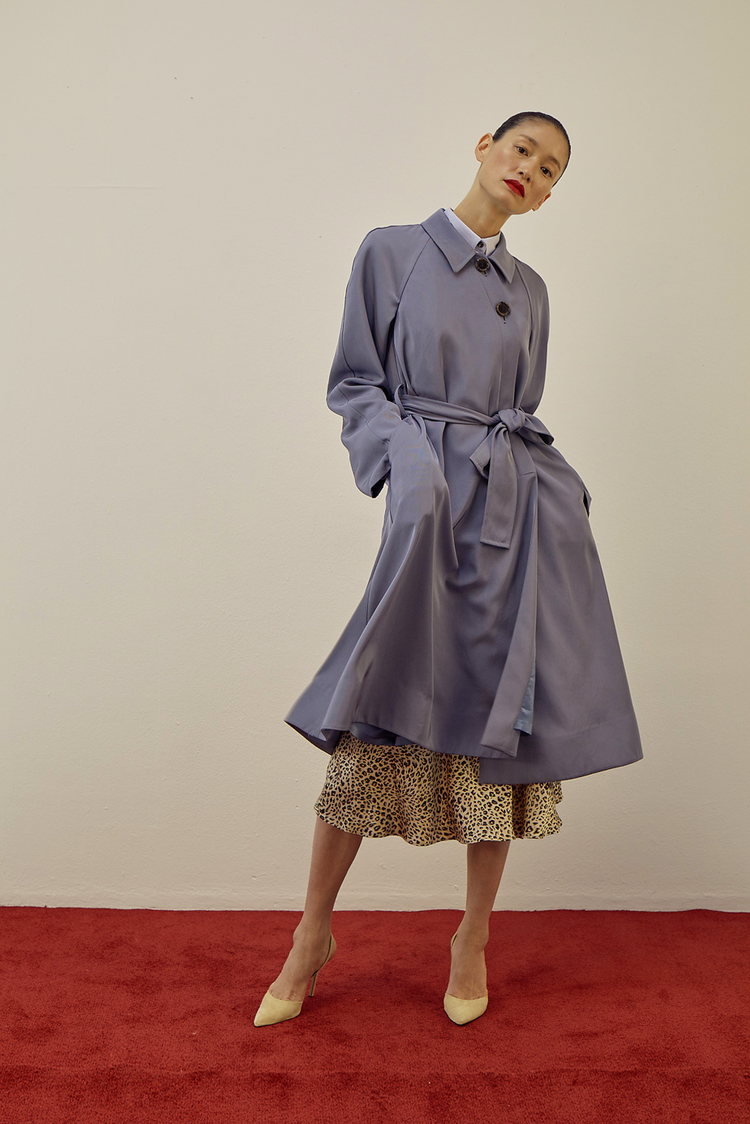 Eliza Coat(SKY BLUE)