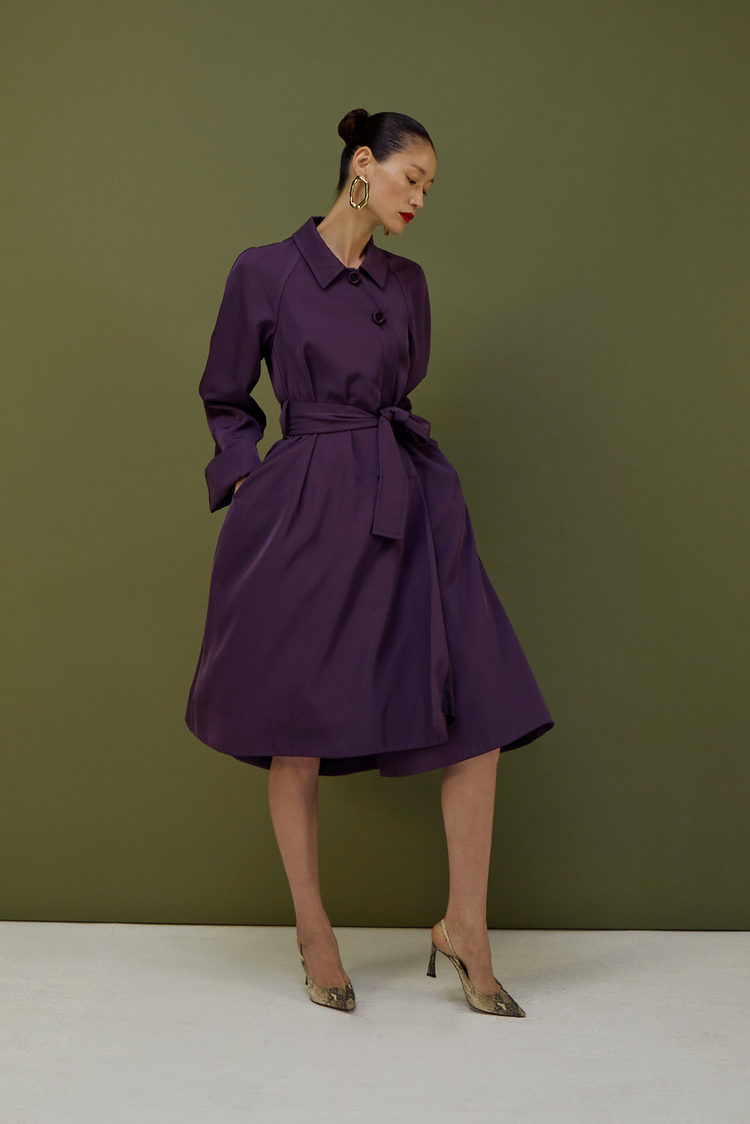 Eliza Coat(PUPLE)