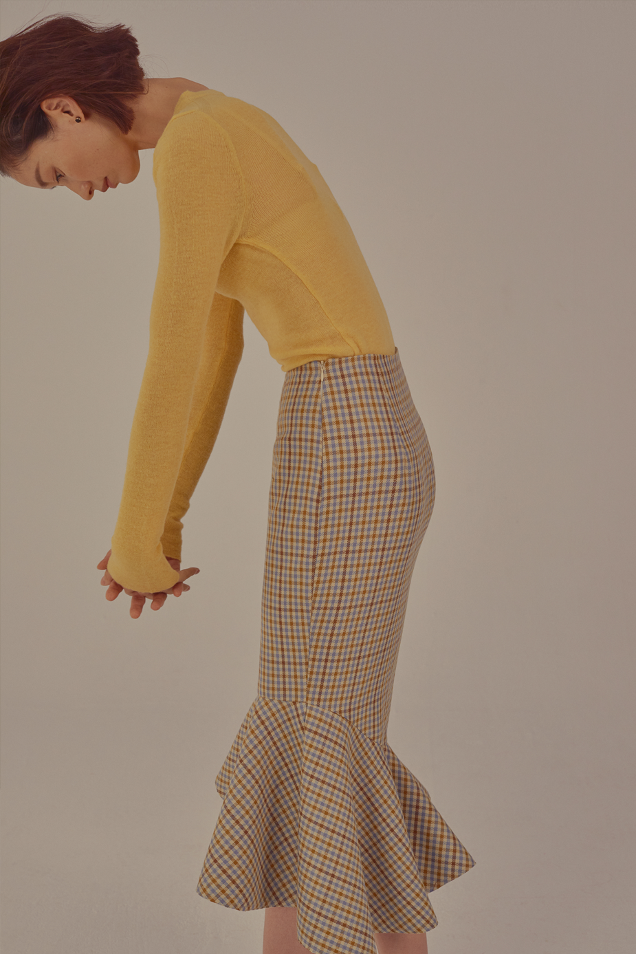 Fluor Skirt(CHECK)