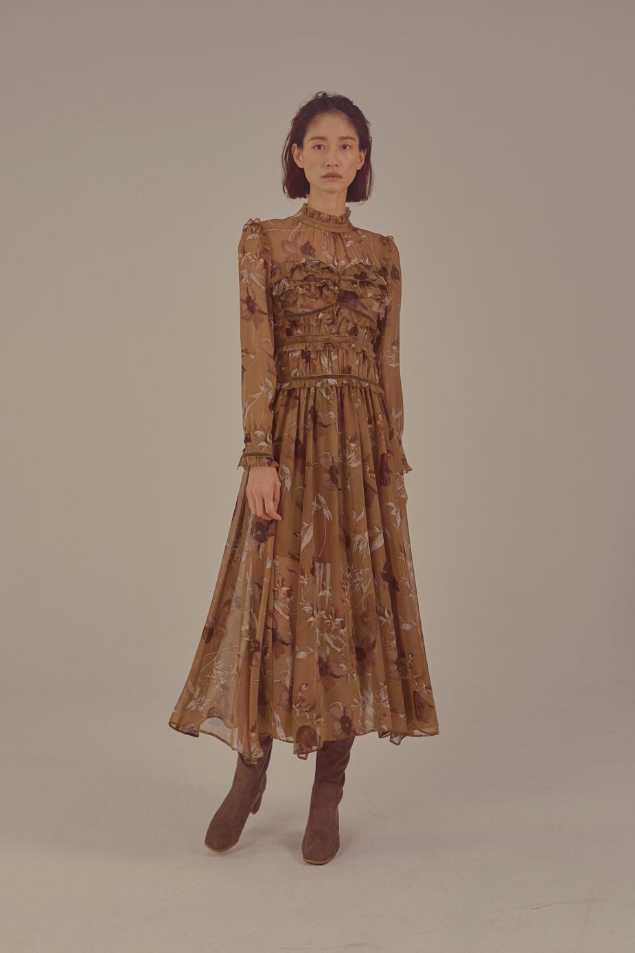 Glamore Dress(PRINT)