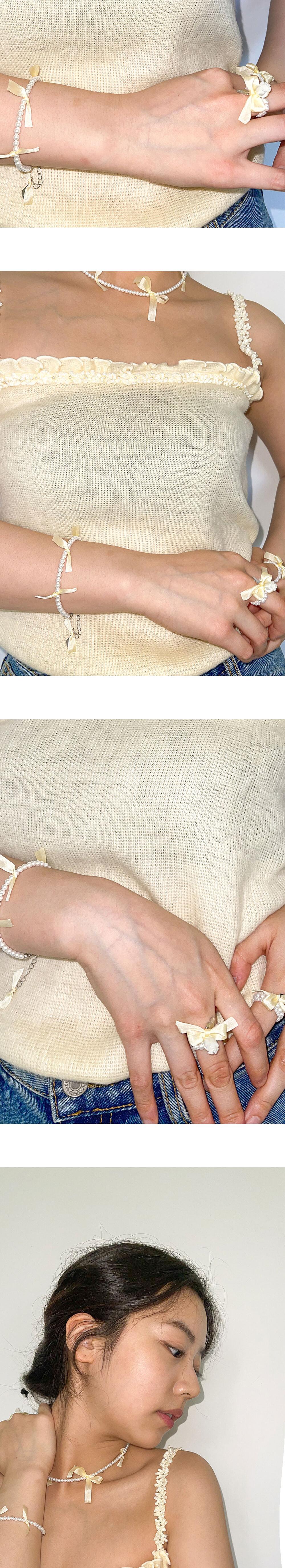 스윙셋(SWINGSET) Wish Bracelet (Cream)