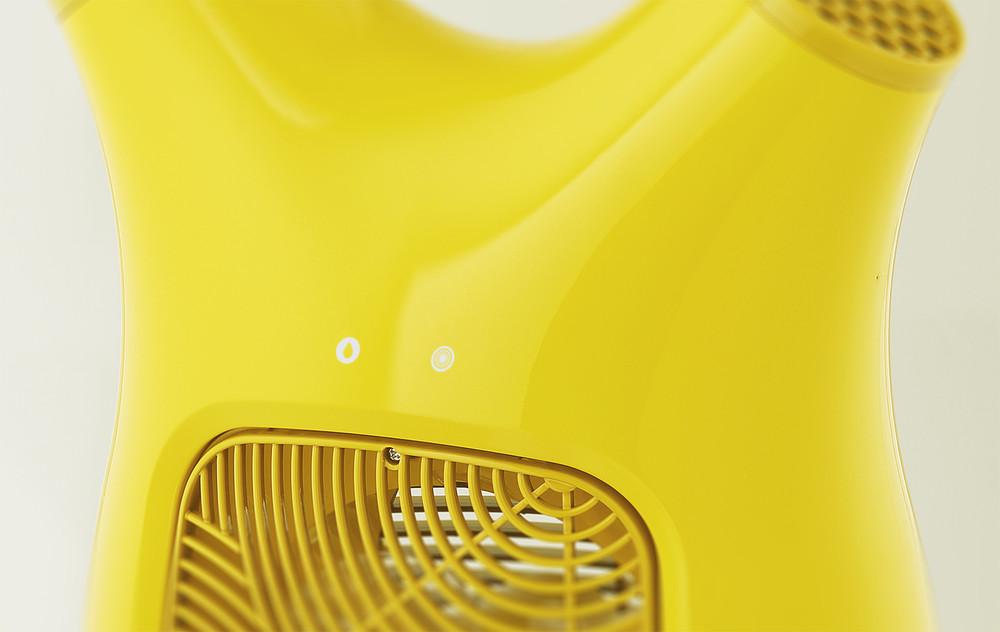 루펜 바람 제습기 dehumidifier SLH-M 버튼