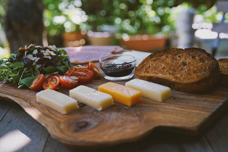 mini cheese board