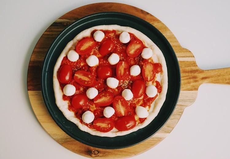 마르게리따 피자 만들기