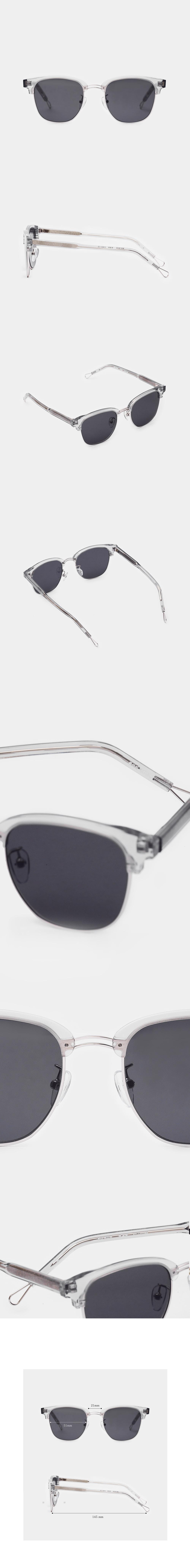 한글안경(HANGLE EYEWEAR) 한강 선글라스 회색