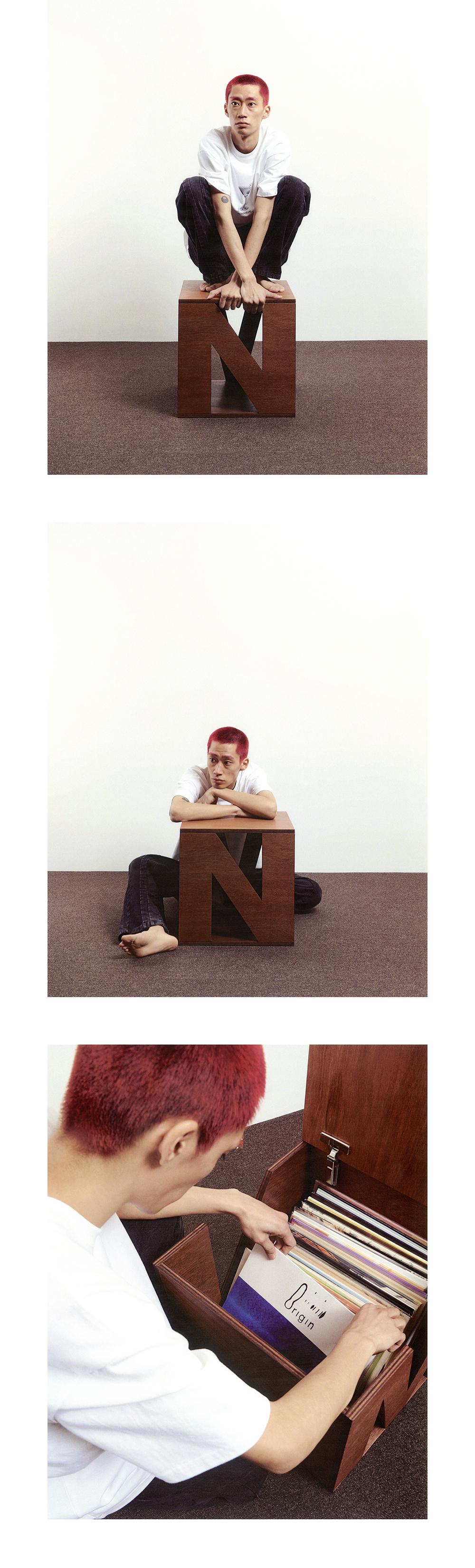노매뉴얼(NOMANUAL) NM BOX STOOL